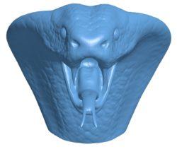 Cobra head B003622 file stl free download 3D Model for CNC and 3d printer