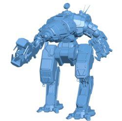 Crab florentine Robot B003119 file stl free download 3D Model for CNC and 3d printer