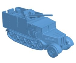 Diana truck B003719 file stl free download 3D Model for CNC and 3d printer
