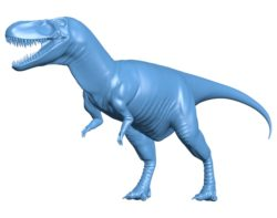 Dinosaur Albertosaurus B002898 file stl free download 3D Model for CNC and 3d printer