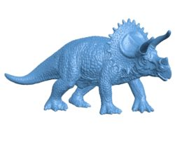 Dinosaurs triceratops B002872 file stl free download 3D Model for CNC and 3d printer