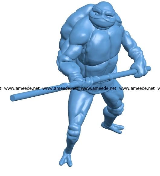 Donatello B003700 file stl free download 3D Model for CNC and 3d printer