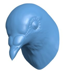 Dove Head B002907 file stl free download 3D Model for CNC and 3d printer