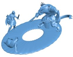 Dungeon Guild Wars 2 B002974 file stl free download 3D Model for CNC and 3d printer