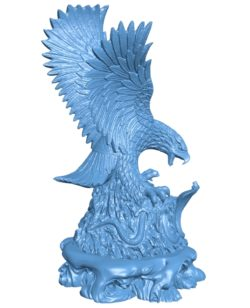 Eagle vs Cobra B003617 file stl free download 3D Model for CNC and 3d printer