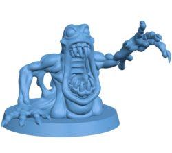 Ectomorph monster B003070 file stl free download 3D Model for CNC and 3d printer