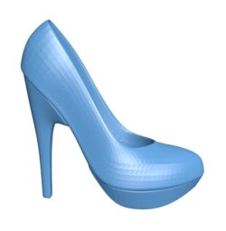 Fashion shoes B003021 file stl free download 3D Model for CNC and 3d printer