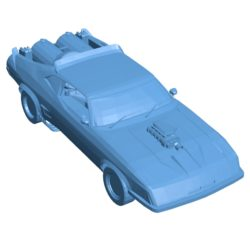 Ford Falcon racing Car B003706 file stl free download 3D Model for CNC and 3d printer