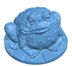 Garden toad B002868 file stl free download 3D Model for CNC and 3d printer