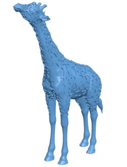 Giraffe heart shape B003219 file stl free download 3D Model for CNC and 3d printer