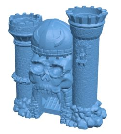 Grayskull Castle House B003477 file stl free download 3D Model for CNC and 3d printer