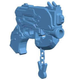 Gun B003567 file stl free download 3D Model for CNC and 3d