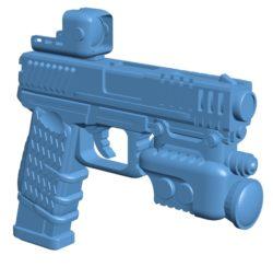Gun G-19 elite B003220 file stl free download 3D Model for CNC and 3d printer