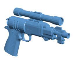 Gun M1911 Blaster B003273 file stl free download 3D Model for CNC and 3d printer