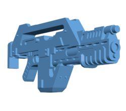 Gun M41A Pulse Rifle B003379 file stl free download 3D Model for CNC and 3d printer