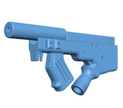Gun combined B003311 file stl free download 3D Model for CNC and 3d printer