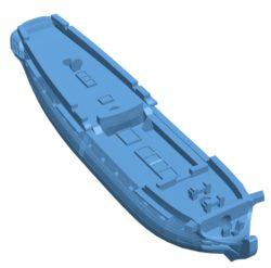 HMS Southampton Ship B003641 file stl free download 3D Model for CNC and 3d printer