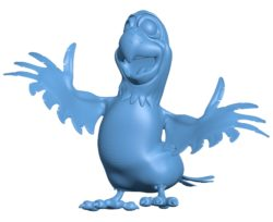 Happy parrot B002928 file stl free download 3D Model for CNC and 3d printer