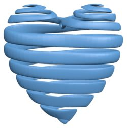 Heart pendant B002884 file stl free download 3D Model for CNC and 3d printer