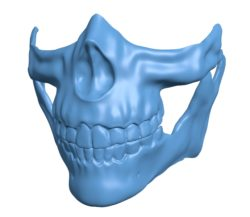 Higgs Mask B003143 file stl free download 3D Model for CNC and 3d printer