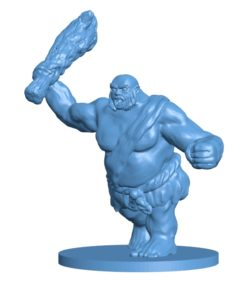 Hill Giant men B003649 file stl free download 3D Model for CNC and 3d printer
