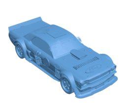 Hoonicorn Car B003394 file stl free download 3D Model for CNC and 3d printer