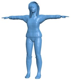 Horse woman B003504 file stl free download 3D Model for CNC and 3d printer