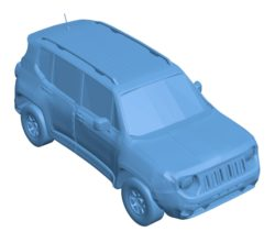 Jeep renegade car B003705 file stl free download 3D Model for CNC and 3d printer