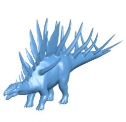 Kentrosaurus dinosaurs B003460 file stl free download 3D Model for CNC and 3d printer