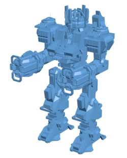 King Kriptor B003620 file stl free download 3D Model for CNC and 3d printer