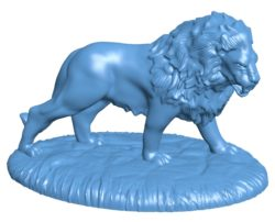 Lion Action B003270 file stl free download 3D Model for CNC and 3d printer