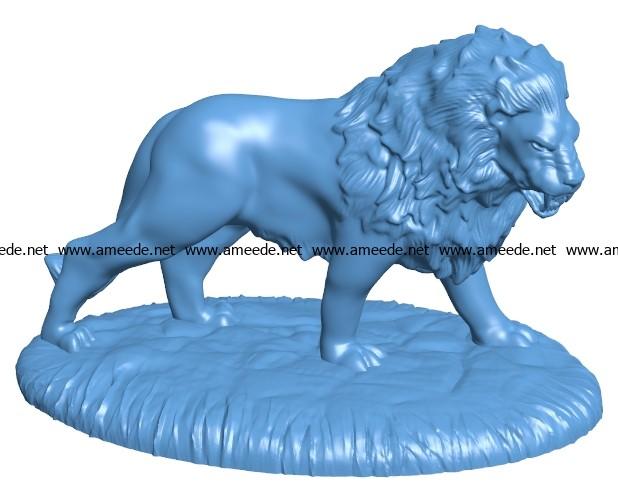 Lion Action B003270 file stl free download 3D Model for CNC and 3d printer