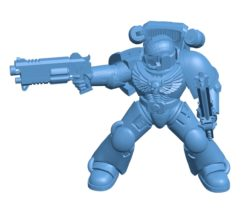 MK VII marine B003365 file stl free download 3D Model for CNC and 3d printer
