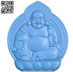 Maitreya Buddha A002796 wood carving file stl for Artcam and Aspire jdpaint free vector art 3d model download for CNC