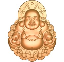 Maitreya Buddha A002800 wood carving file stl for Artcam and Aspire jdpaint free vector art 3d model download for CNC