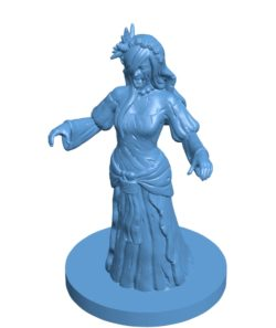 Medieval Weeping Woman B003074 file stl free download 3D Model for CNC and 3d printer