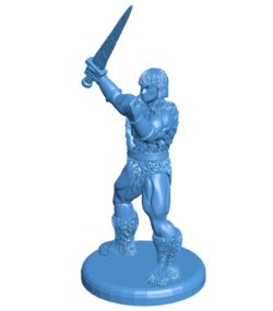 Men Thundarr B003755 file stl free download 3D Model for CNC and 3d printer