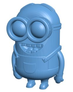 Minion Dave B002994 file stl free download 3D Model for CNC and 3d printer