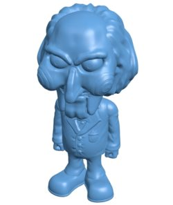 Mr Billy Whole B003587 file stl free download 3D Model for CNC and 3d printer