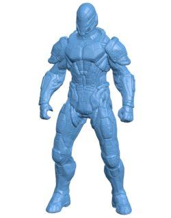 Mr EXO pilot B003256 file stl free download 3D Model for CNC and 3d printer