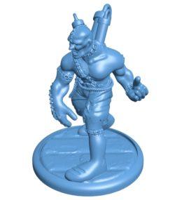 Mr Flesh Golem Figure B003591 file stl free download 3D Model for CNC and 3d printer