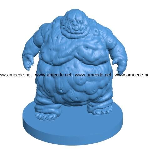 Mr Nupperibo 003738 file stl free download 3D Model for CNC and 3d printer