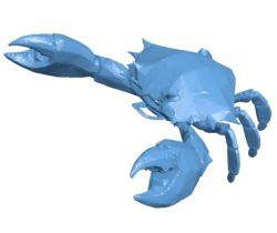 Mudcrab B003633 file stl free download 3D Model for CNC and 3d printer