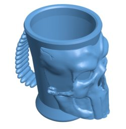 Mug B003401 file stl free download 3D Model for CNC and 3d printer