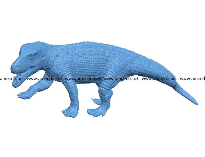 Prestosuchus dinosaurs B003457 file stl free download 3D Model for CNC and 3d printer