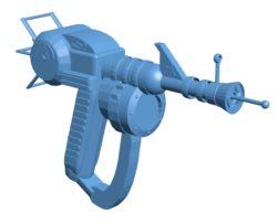 Ray Gun B003642 file stl free download 3D Model for CNC and 3d printer