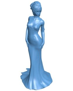 Ready for the ball women B003197 file stl free download 3D Model for CNC and 3d printer