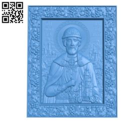 Religious picture A002832 wood carving file stl for Artcam and Aspire jdpaint free vector art 3d model download for CNC