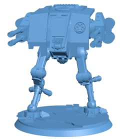 Robot Imperium dreadnought B002941 file stl free download 3D Model for CNC and 3d printer