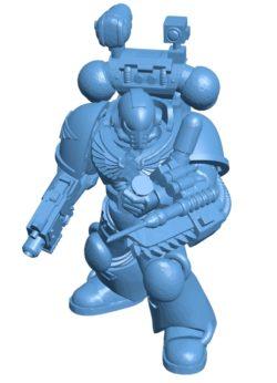Robot MK7 medic B003283 file stl free download 3D Model for CNC and 3d printer